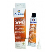 PERMATEX Supra Copper Gasket Maker  Χαλκού  80 ML